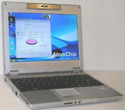 AtomChip Super Notebook Computer - For Only $18,500