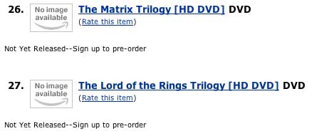 Pre-Order Your HD Movies From Amazon