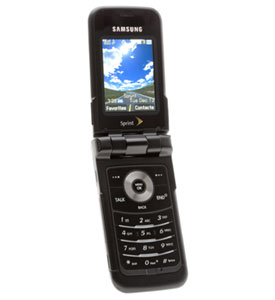 Samsung MM-A900 Sprint Cell Phone Review