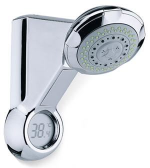 Shower Head That Tells You The Temperature