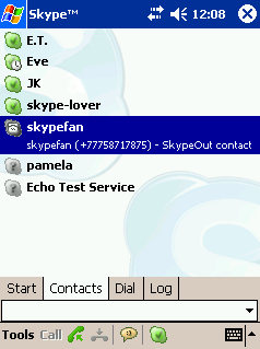 Skype For Pocket PC Beta