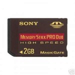 Cheap Sony 2GB Memory Stick Pro Duo High Speed MSX-M2GN