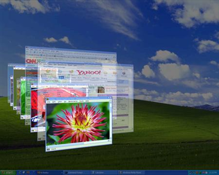 How To Get The Flip3D Feature In Windows XP