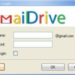 GMail Drive 1.0.10 Has Been Released