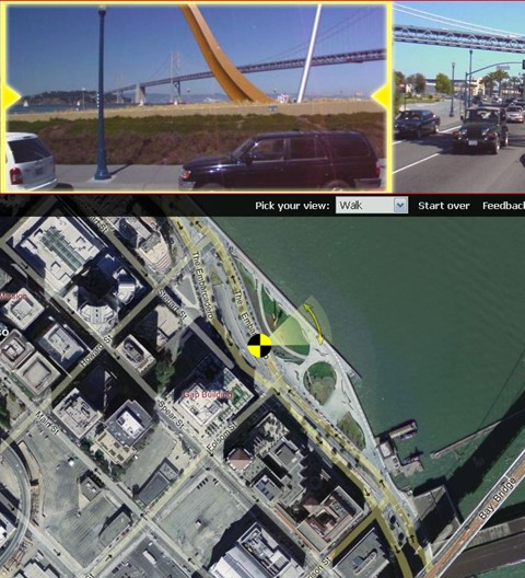 Windows Live Local Virtual Earth Gives You A Cars View