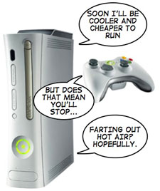 Microsoft Has Plans To Produce A 'Cooler' Xbox 360