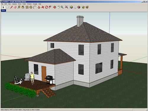 Google SketchUp Released For Free