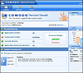 Comodo Personal Firewall 2.0 Gets Great Review