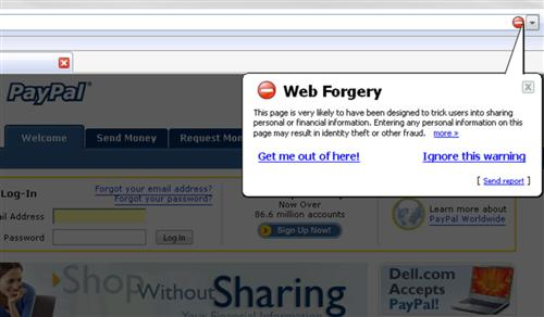 Firefox 2.0 Gets Safe Browsing Implemented For Alpha 3