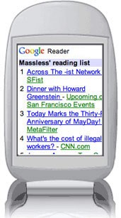 Google Reader Goes Mobile