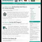More SlashDot Redesigns — This Round Is Much Better
