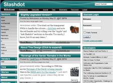 SlashDot Redesigns...Yes These Are More