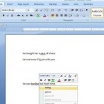 Microsoft Office 2007 Adds New Squiggly!