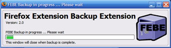Backup Your Firefox Extensions Into One File
