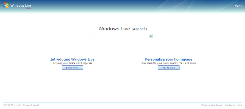 Windows Live.com User Interface Update!