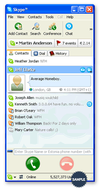 Download The Newly Released Skype 2.5