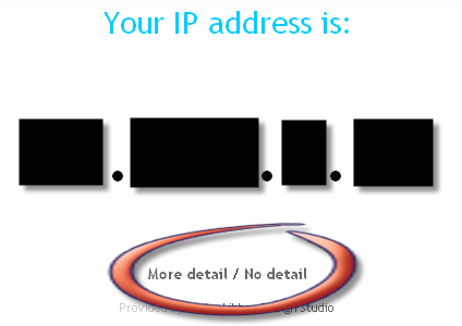 Great Site To Find Your IP Address
