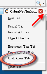 Undo Close Tab And Scrolling Tab-bar