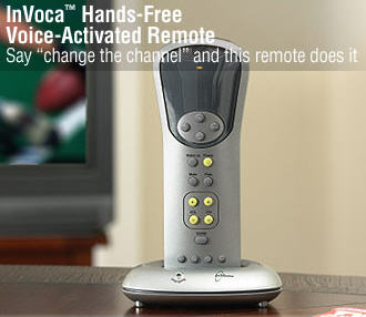 InVoca Voice-Activated Remote Control