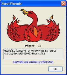 A Look Back At Firefox (Phoenix) 0.1