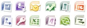 Microsoft Office 2007 Gets New Icons