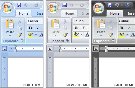 Microsoft Creates A New Office 2007 Theme
