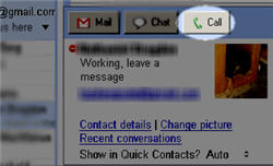 Gmail Voice Chat Calling