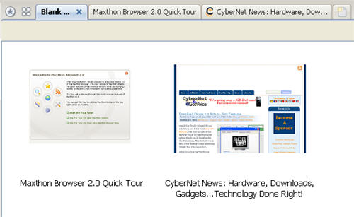 Maxthon 2 Preview