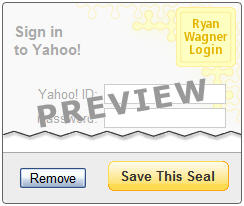 Yahoo Anti-Phishing Login