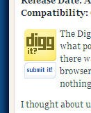 Digg Button Error