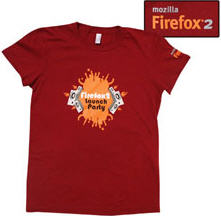 Firefox 2 Launch Party Shirt