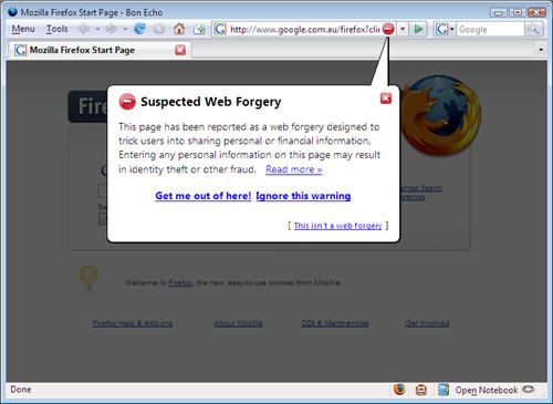 Firefox Forgery