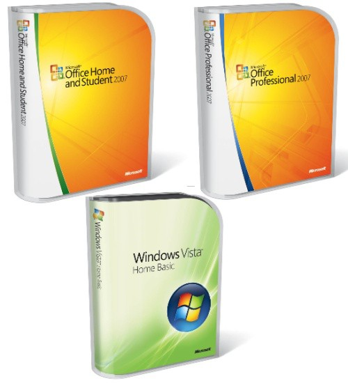 Vista and Office 2007 Packaging