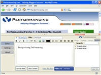 Performancing Firefox