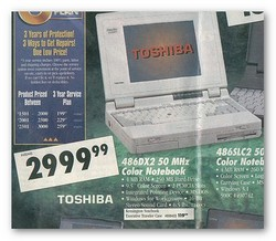CompUSA Laptop Ad