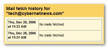 Gmail Mail Fetcher