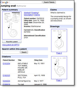 Google Patent Search Engine