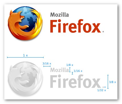 Firefox Logo with Side Text