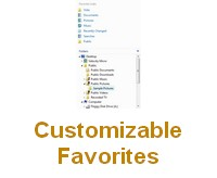 Customizable Favorites