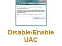 Disable/Enable UAC