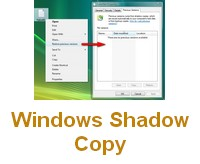 Windows Shadow Copy