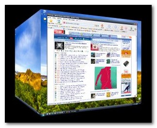 Windows Cube