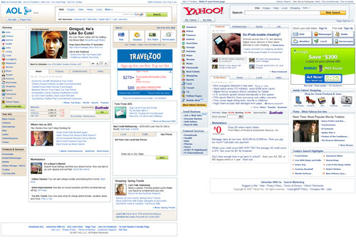 AOL vs. Yahoo