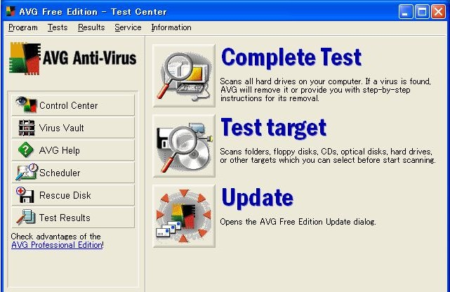 free antivirus software for windows 2000 professional