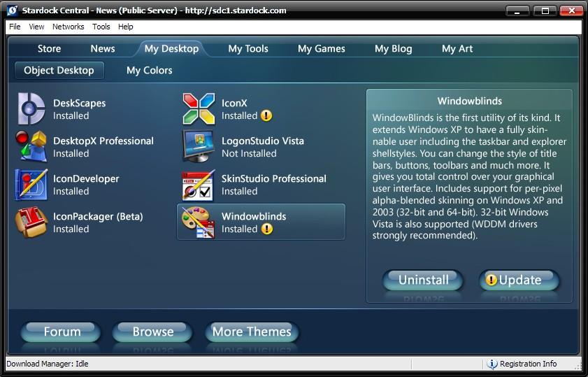 Stardock Object Desktop 2008 Preview