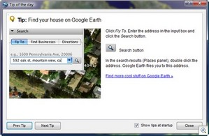 Google Earth 4.1 Tips