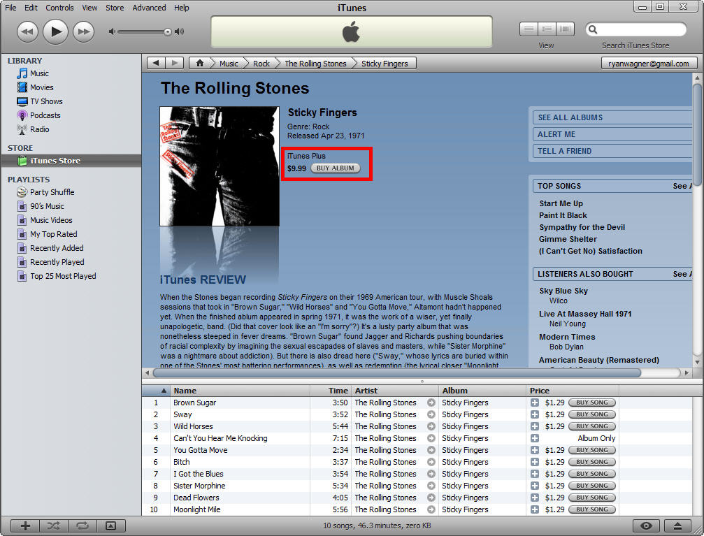 """iTunes 7 2 """"Plus"""" Offers DRM-Free Music and Vista Compatibility"""