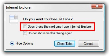how to open a previous session in firefox