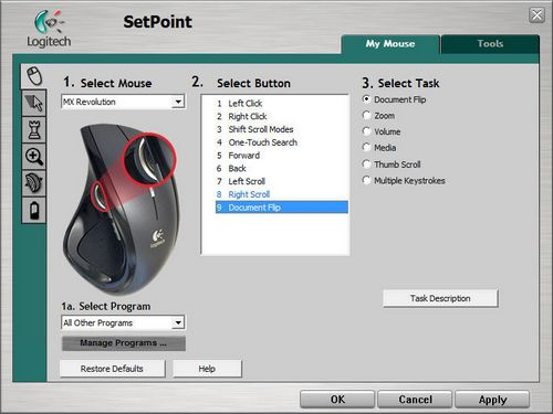 setpoint logitech  windows 7 64 bit