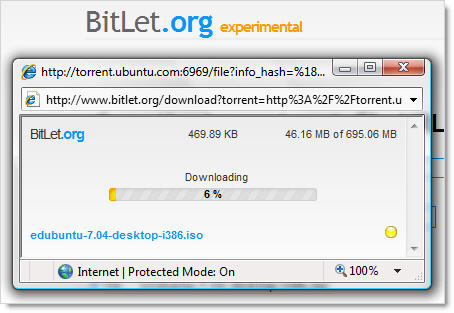 BitLet BitTorrent Downloader